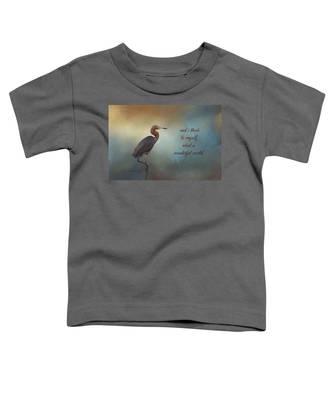 What A Wonderful World Toddler T-Shirt