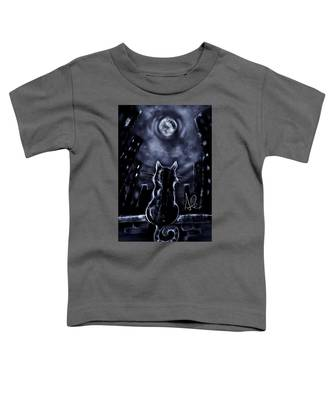 Whispering To The Moon Toddler T-Shirt