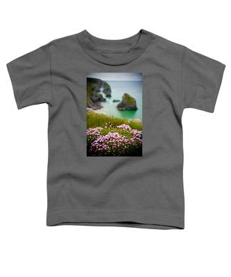 Wild Sea Pinks In Cornwall Toddler T-Shirt