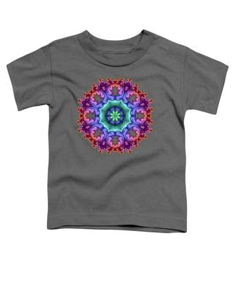 Wreath Of Satin Flower Buds Toddler T-Shirt