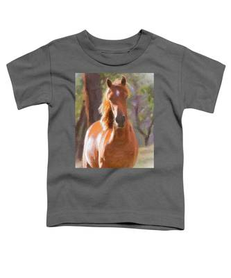 A Horse Toddler T-Shirt