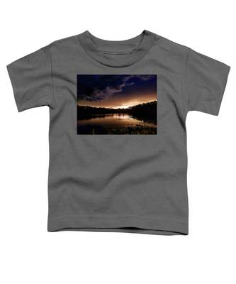 Sunset Seascape Toddler T-Shirts