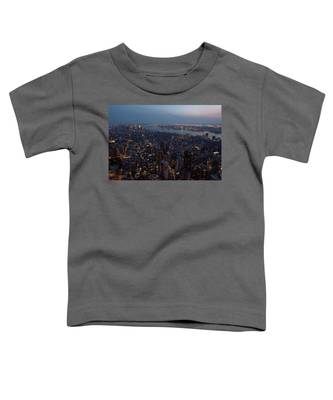 Dusk On New York City Toddler T-Shirt