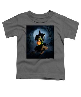 Fly By Night Halloween Toddler T-Shirt