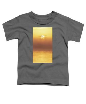 Foggy Wetlands Sunrise Toddler T-Shirt