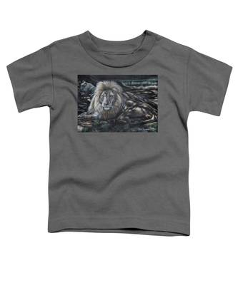 Lion In The Shade Toddler T-Shirt