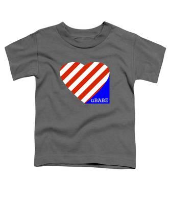 Love Ubabe America Toddler T-Shirt