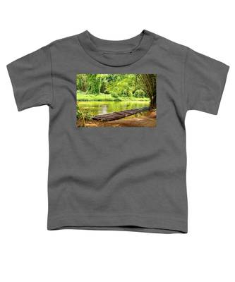 Martha Brae River Bamboo Rafting Toddler T-Shirt