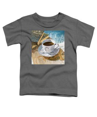 Morning Coffee Toddler T-Shirt