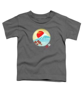 Mount Fuji Toddler T-Shirts