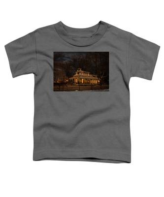 Painted Lady In Winter Toddler T-Shirt
