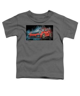 Porsche 911 Gt2 Toddler T-Shirt