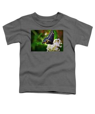 Swallowtail Butterfly Toddler T-Shirt