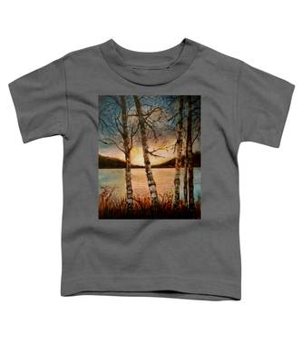 Warm Fall Day Toddler T-Shirt