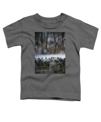 Winter Swim Toddler T-Shirt