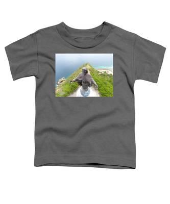 Golden Sunset Toddler T-Shirts