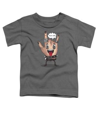 Rock And Roll Stars Toddler T-Shirts