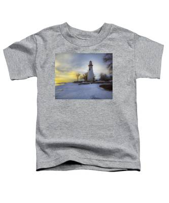 Marblehead Lighthouse Lake Erie Toddler T-Shirt