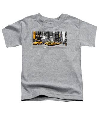 Nyc Yellow Cabs - Ck Toddler T-Shirt