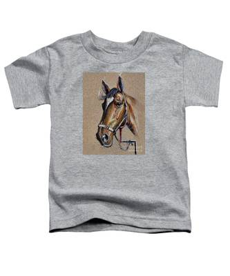 Horse Face - Drawing  Toddler T-Shirt
