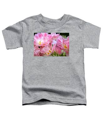 A Crowd Of Tulips Toddler T-Shirt