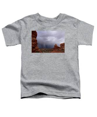 Arches National Monument Moab Toddler T-Shirt
