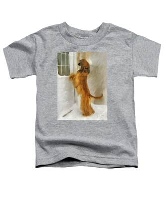 Can I Come In Now? Toddler T-Shirt