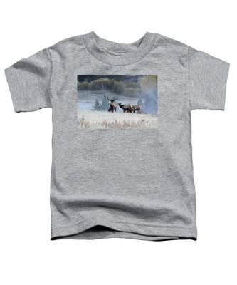 Cool Misty Morning Toddler T-Shirt