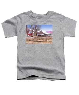 Cows At Jenne Farm Toddler T-Shirt