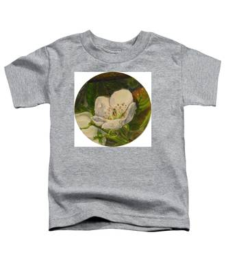 Dew Of Pear's Blooms Toddler T-Shirt