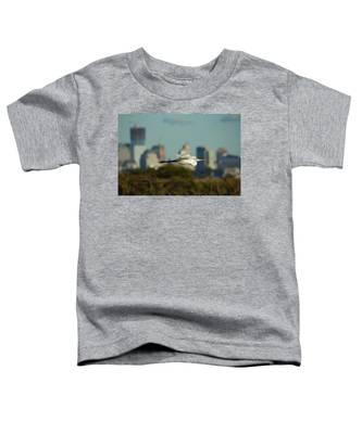 Flight Of The Great Egret Toddler T-Shirt