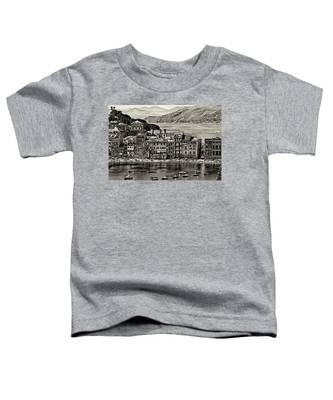 Grunge Seascape Toddler T-Shirt