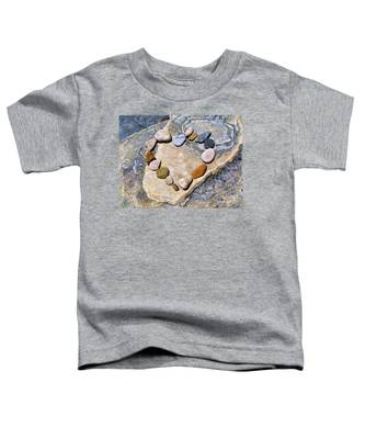 Heart And Stones  Toddler T-Shirt