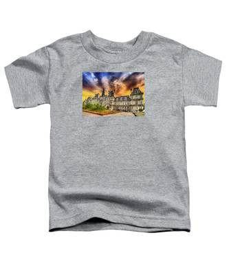 Sunset At The Hotel De Ville Toddler T-Shirt