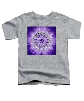 Toddler T-Shirt featuring the drawing In'phi'nity Star-map by Derek Gedney