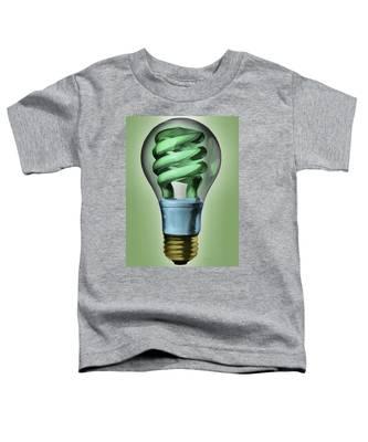 Light Bulb Toddler T-Shirt