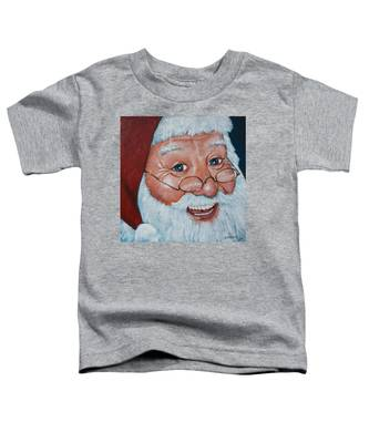 Merry Santa Toddler T-Shirt