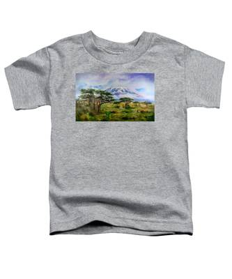 Mount Kilimanjaro Tanzania Toddler T-Shirt