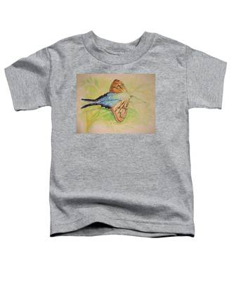 One Day In A Long-tailed Skipper Moth's Life Toddler T-Shirt