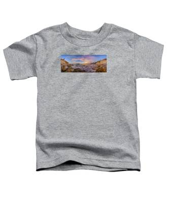 Panorama The Whole Way Round The Cove Toddler T-Shirt