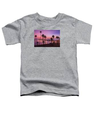 San Clemente Sunset Meditation Toddler T-Shirt