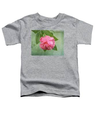 Southern Camellia Flower Toddler T-Shirt