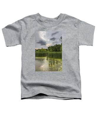 Summer Evening Clouds Toddler T-Shirt