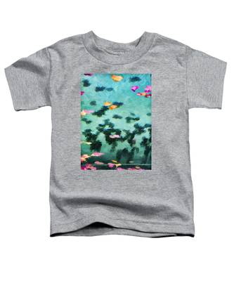 Swirling Leaves And Petals 2 Toddler T-Shirt