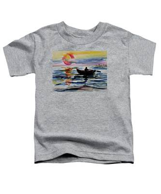 The Old Man And The Sea Toddler T-Shirt