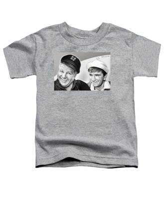The Skipper And Gilligan Toddler T-Shirt