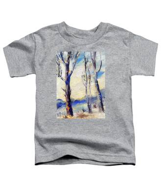 Trees In Winter Toddler T-Shirt