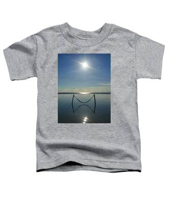 Toddler T-Shirt featuring the photograph Tres Luces by Skip Hunt