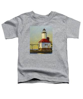 Waiting For The Sunset Toddler T-Shirt