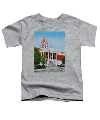 White County Courthouse - Veteran's Memorial Toddler T-Shirt